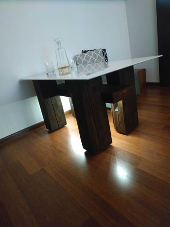 Stół stolik industrialny kawowy
