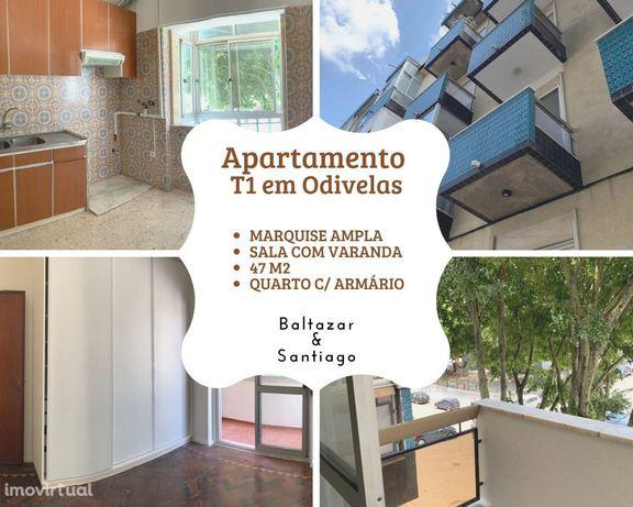Apartamento T1 em Odivelas - Pombais