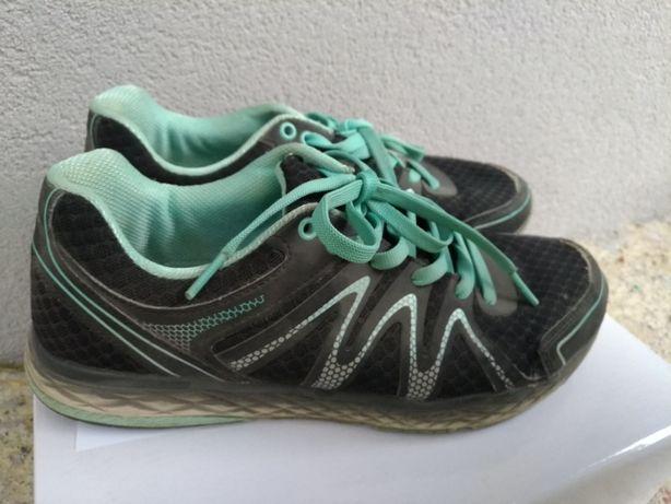 Buty sportowe adidasy czarno niebieskie rozmiar 41
