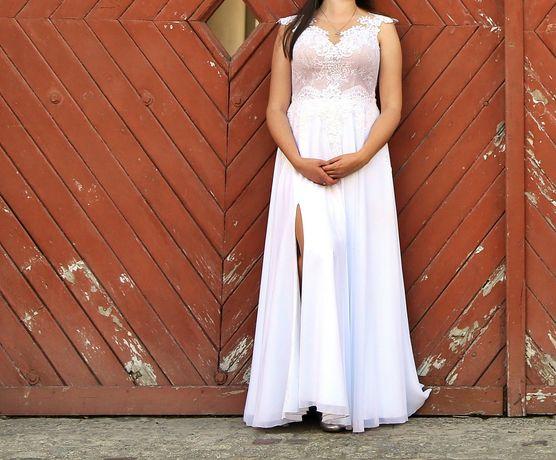 Suknia ślubna na wzrost 180 cm