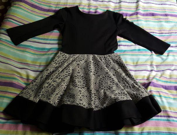 Czarno-biała sukienka By o la la