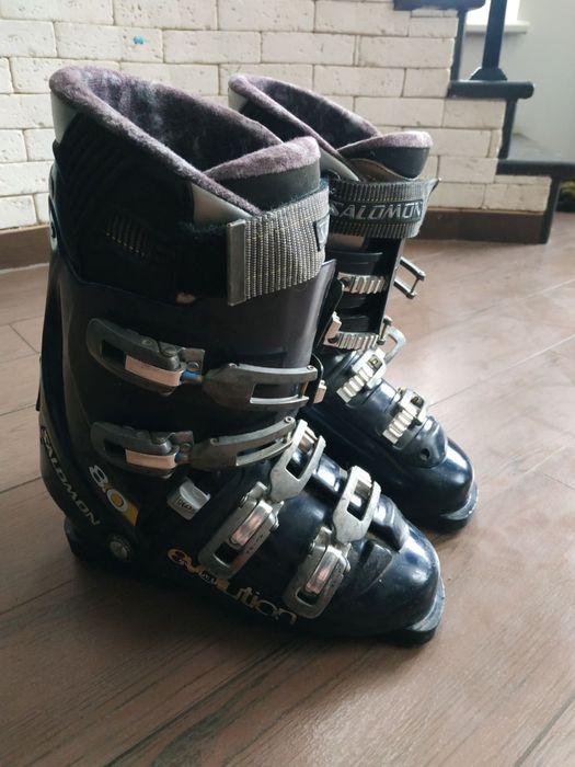 Salomon evolution боти лижні , ботинки лижные.Черевики Розмір 27.0 (31 Бердичев - изображение 1