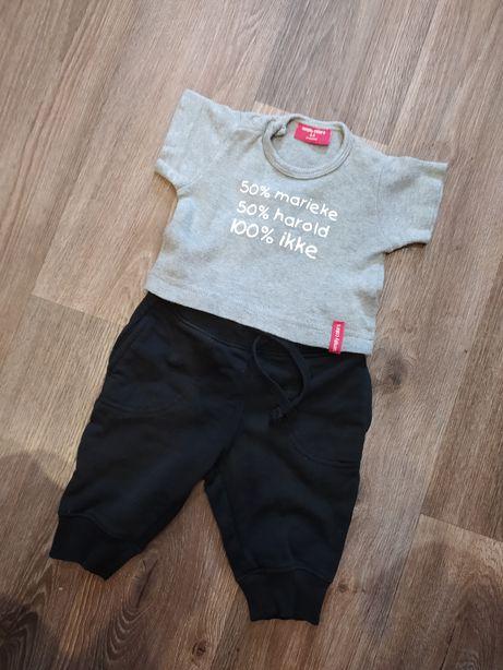 Стильный костюм для новорожденного