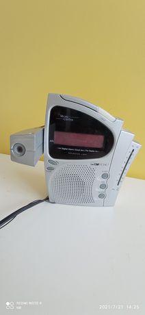 Radio-budzik ( zegar z projektorem) Denver