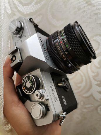 Canon FTb QL + lente vintage 28mm 1:2.8