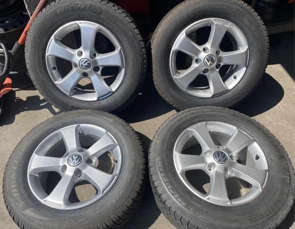 Alufelgi z oponami 235/65 R17 VW Touareg 7P0 Audi Q7 Cayenne 5x130