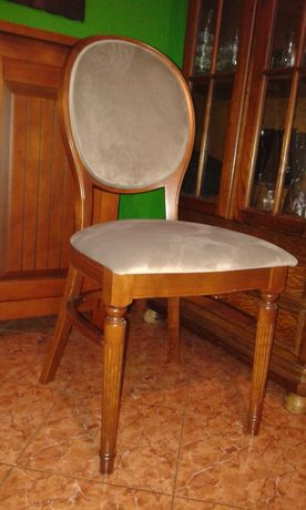 NOWE krzesła tapicerowane FAMEG