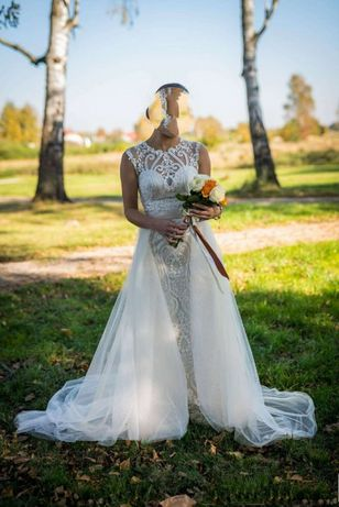 Suknia ślubna IGAR jedyna taka na Olx, stan BDB(plus) !!!Nowa Cena