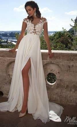 Milla Nova suknia ślubna Selena ORYGINALNA, Madonna rozm.34