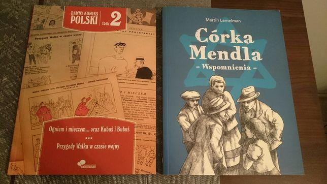 Córka Mendla, Dawny Komiks Polski