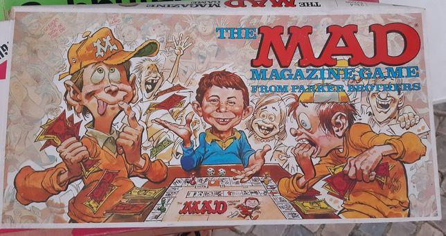 The mad magazine game jogo de tabuleiro