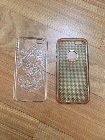 Pack 2 capas Iphone 6/6S Mandala e Dourada