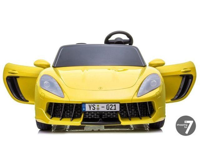 Auto na akumulator najszybsze 13-15,5 km/h pompowane koła