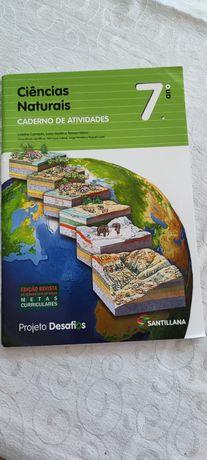 Caderno atividades Ciências Naturais 7, 7 ano