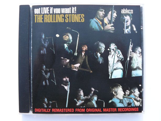 cd The Rolling Stones - Got Live If You 1995 wyd.EU tłocz.Germany
