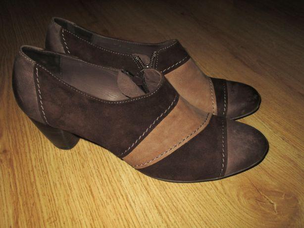 Sapatos botins Godiva camurça tamanho 38 Novos