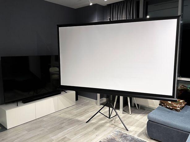 Продам экран мобильный напольный для проектора 108 дюймов