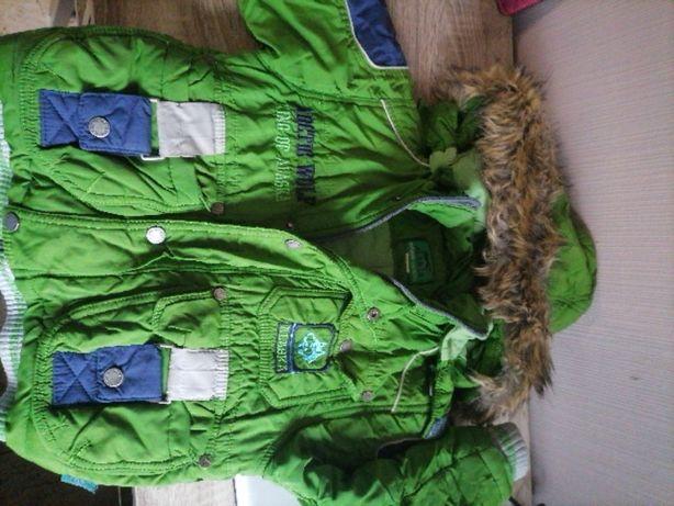 Куртка зимова фірмова alaska 92 ріст