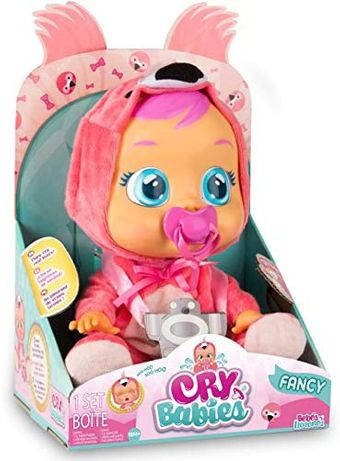 Интерактивная кукла пупс Cry Babies Fancy The Flamingo Doll
