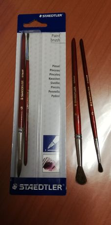 Conjunto 4 pincéis escolares, Staedltler, novos
