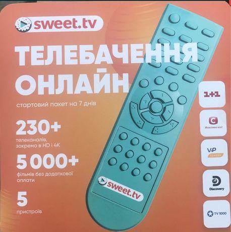 Стартові пакети Sweet.tv