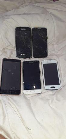 Telefony uszkodzone