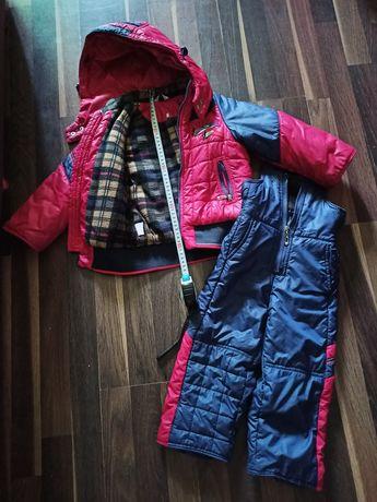 Продам зимний комплект куртка+ штаны
