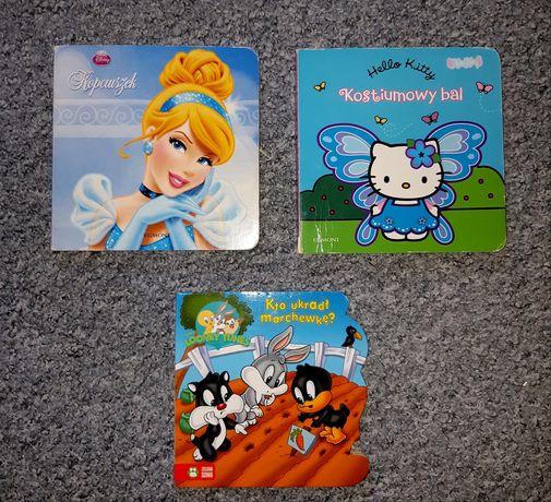 Zestaw Książki obrazkowe Kopciuszek, Hello Kitty, Looney Tunes /Egmont