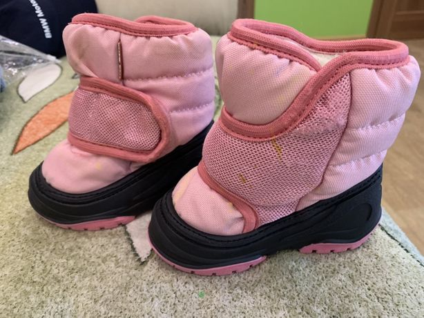 Продам зимние ботиночки