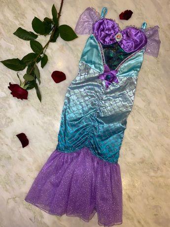 Карнавальное маскарадное костюм платье принцессы Русалочки Ариель