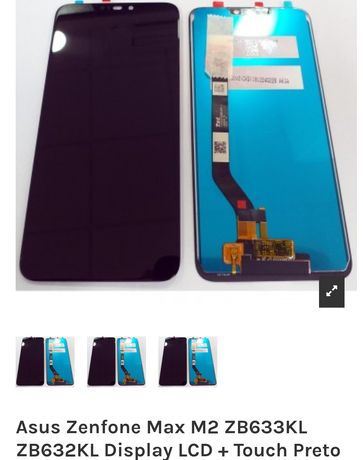 Asus Zenfone Max M2 ZB633KL ZB632KL Display LCD + Touch Preto