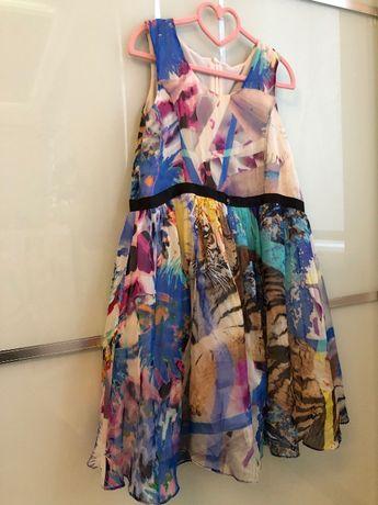 Оригинальное Платье Philipp Plein 10-12-14лет шёлк.