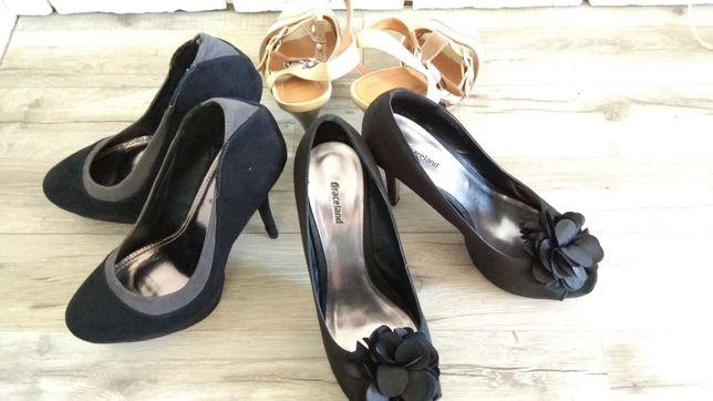 Туфли женские на каблуке 39р.