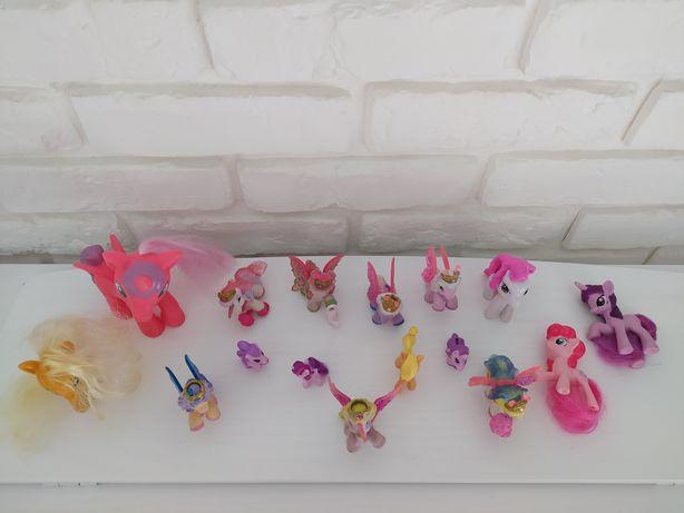 Figurki koniki pony i filly