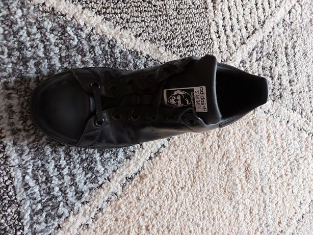 Czarne adidasy Stan Smith r. 37