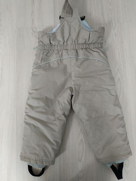 Ocieplane spodnie narciarskie Decathlon 3lata, 94-101cm