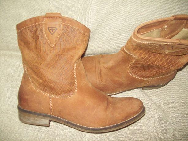 Кожаные Полусапоги ,сапоги,ботинки Тамарис Германия 39 размер