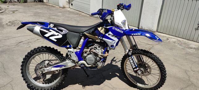 Yamaha YZ 250 F 2002 matrícula e luz