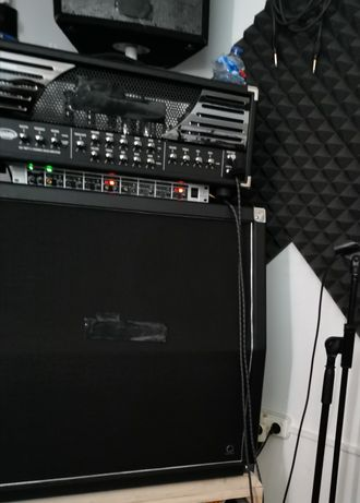 Amplificador Guitarra BUGERA 333XL Infinium + Coluna Bugera