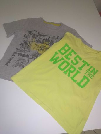 Koszulki chłopak 134