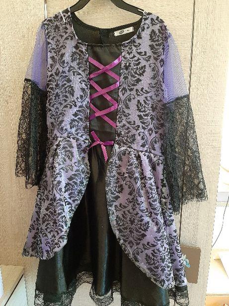 Sukienka-kostium wampirzycy 8-9 lat