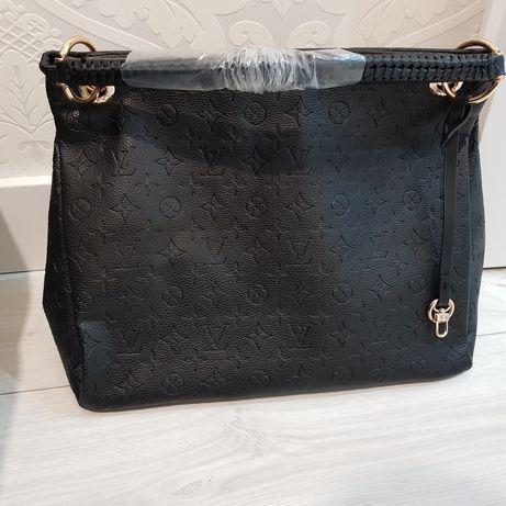 Piękna Black monogram torebka A4 model artsy Louis vuitton cudo prem