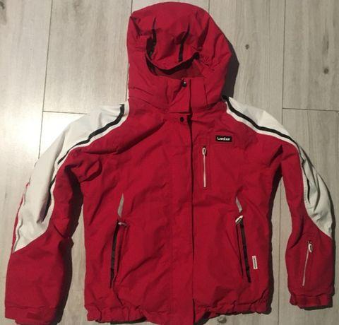 Komplet narciarski kurtka i spodnie zimowe dziewczęce 134/145