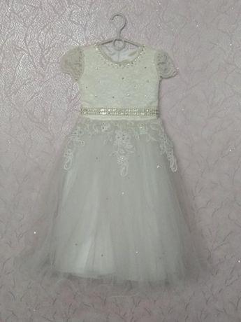 Платья нарядное выпускное праздничное бальное для маленькой принцессы