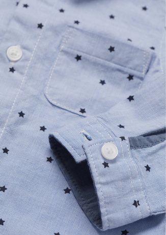 Koszula w gwiazdki h&m