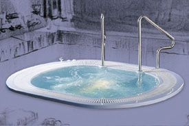 Vendo jacuzzi (mini-piscina) para 6 pessoas com pouco uso