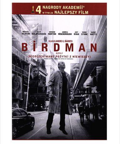 OKAZJA! Nowy film DVD BIRDMAN zafoliowany dla miłośników kina!