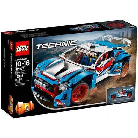 Lego Technic 42077 Carro de Rali Artigo novo e selado Trocas OK