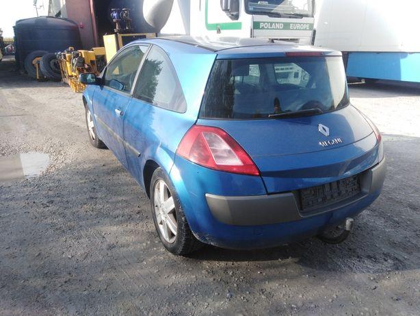 Renault Megane II TEI45 zderzak tył tylny stan bdb wysyłka Kurierem