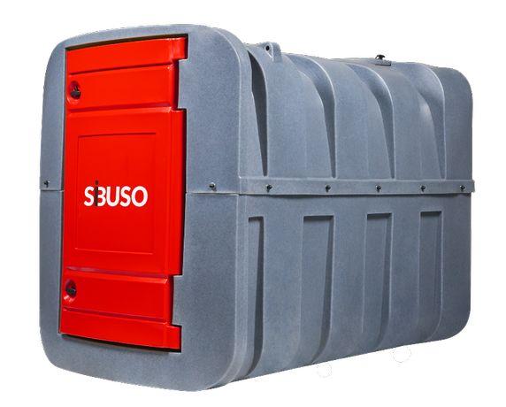SiBUSO H2500 – Legalny i bezpieczny zbiornik na olej napędowy, 2500 L